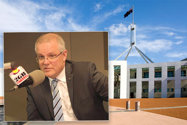Article image for 'The people havehad a gutful': Scott Morrison slams nonsense in Canberra