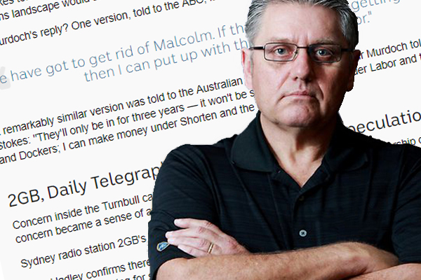 Article image for 'It's too bizarre for words': Ray Hadley rubbishes Rupert Murdoch conspiracy