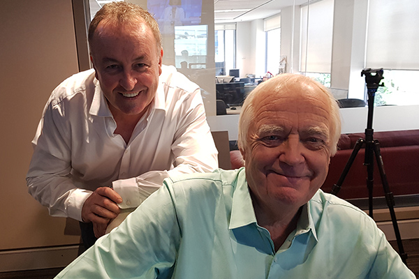 Article image for Musical theatre royalty Sir Tim Rice reveals why working with Elton John is unusual
