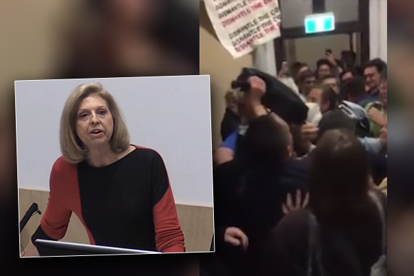Psychologist slams hypocritical mob of 'abusive' protesters for bullying