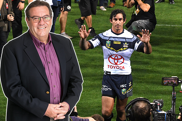 Article image for 'To call this one is very special', Thirsty emotionally describes calling Thurston's final game