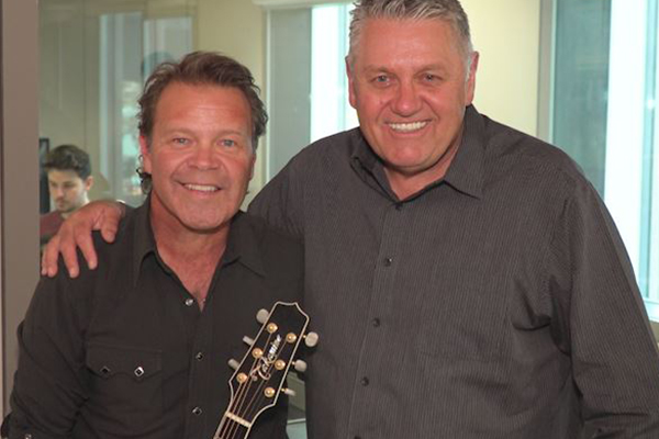 Country music royalty joins Ray in the studio