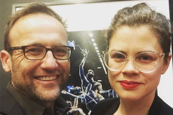 Article image for Greens MP in hot water after posting a photo with his wife