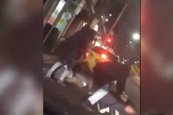 Article image for GRAPHIC   Footage reveals victims being viciously assaulted by trio