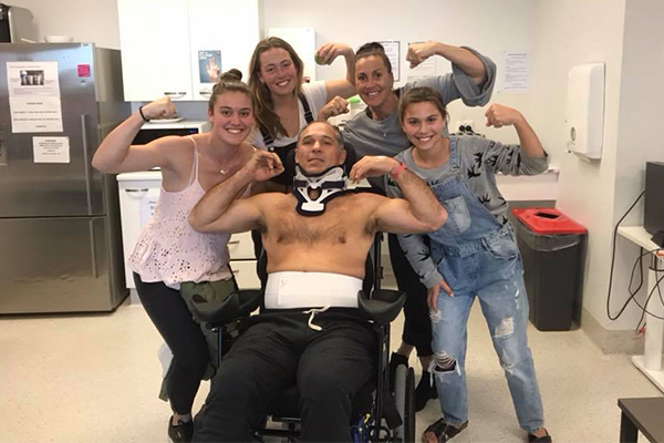 Community rallies around former Wallaby after he suffers severe spinal injury