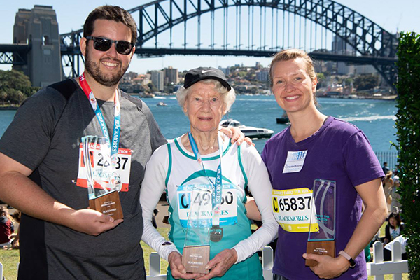 Article image for 94-year-old walking half-marathon proves age is just a number