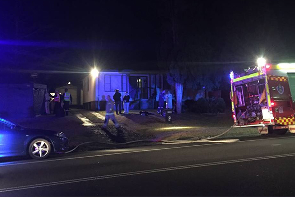 Article image for One man has died in house fire near Wollongong