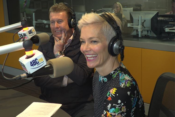 Peter Overton and Jessica Rowe are taking over Ray Hadley's job
