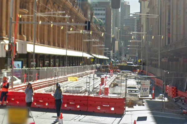 Article image for 'They can't scream loud enough': Businesses at wits end over light rail saga