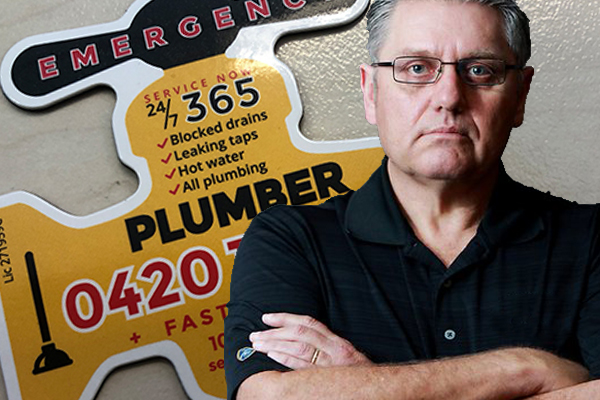 Article image for Keep your eyes peeled: The shonky Plumbing Detectives are at it again