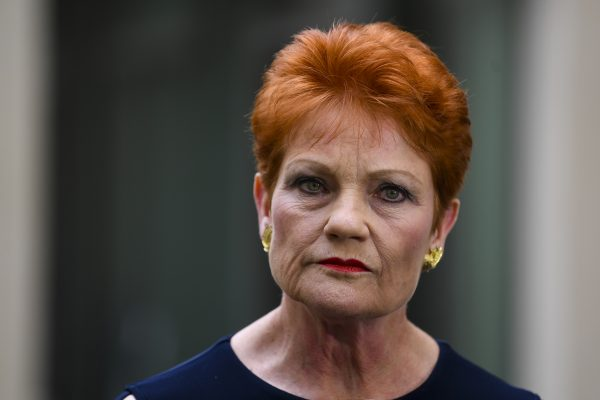 Article image for 'I wouldn't trust him': Pauline Hanson 'furious' over Turnbull's trip to Bali