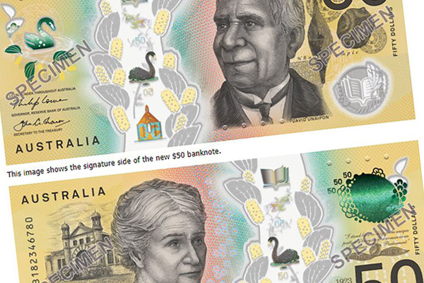Article image for New $50 note hits Aussie wallets