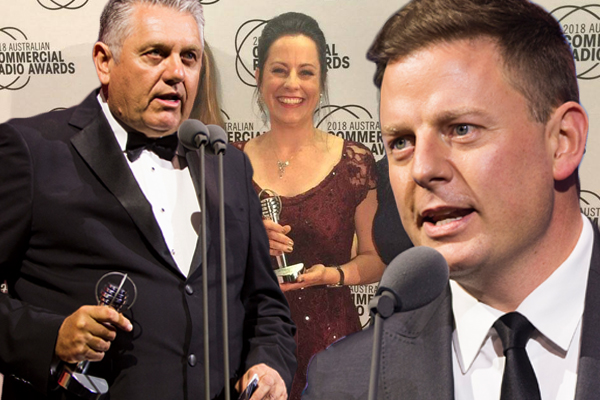 Article image for 2GB wins big at the Australian Commercial Radio Awards