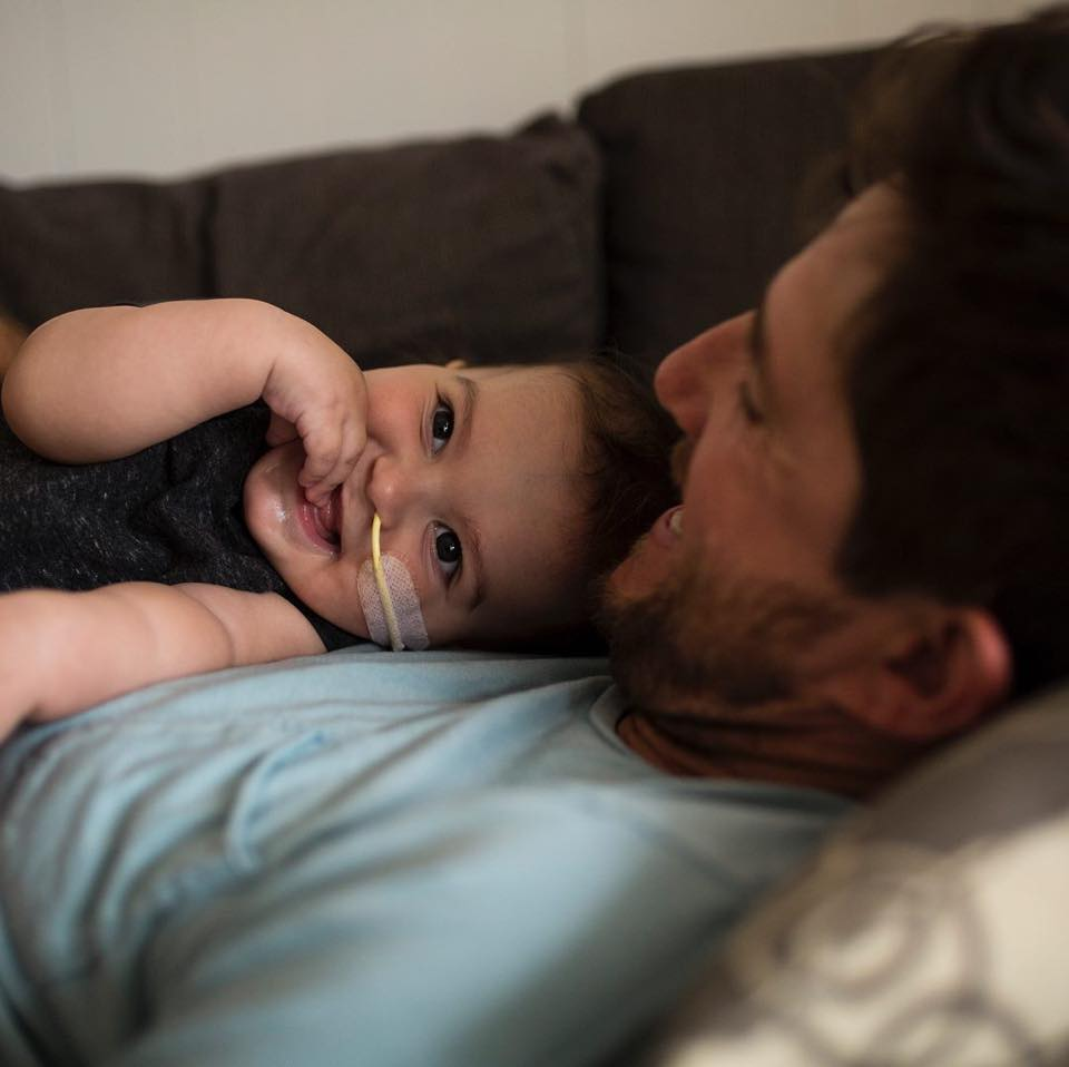 Article image for Inspiring story of a little boy's brave fight for life