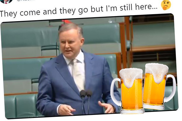 Article image for 'Has Albo had a few?': Anthony Albanese responds to drinking claims