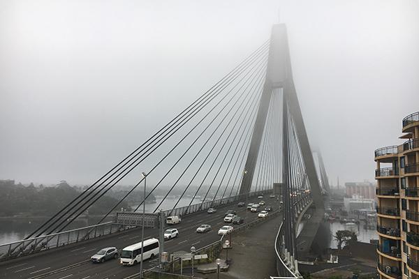 Flights delayed as thick fog blankets Sydney