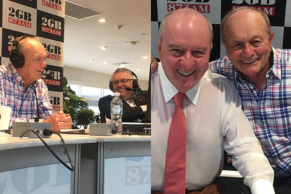 2GB's biggest ever outside broadcast