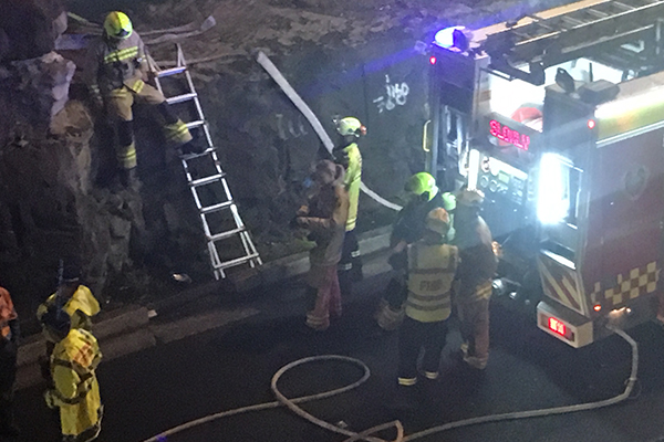 Article image for Alleged drunk driver collides with petrol tanker