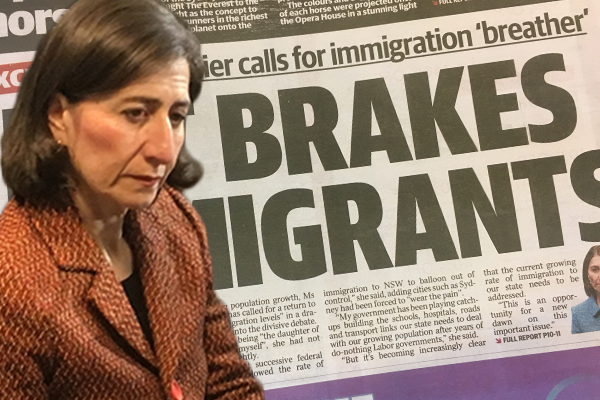 Article image for 'We're playing catch up': Premier calls for immigration slow down