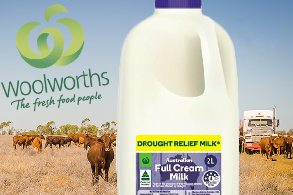 Article image for Drought relief milk raises more than half a million dollars already