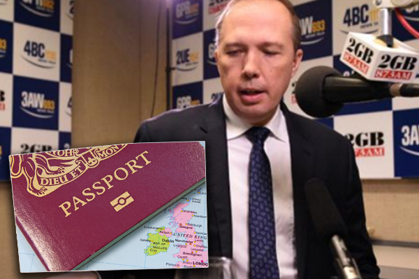 Federal Police raid Peter Dutton's office over au pair leaks
