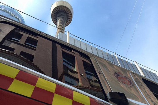 Article image for Hundreds of firefighters to climb Centrepoint Tower