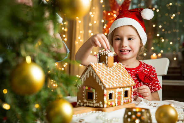 GISS: Gingerbread House Workshops