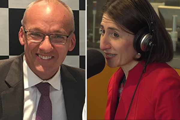 Article image for Gladys Berejiklian admits there's no Foley friendship