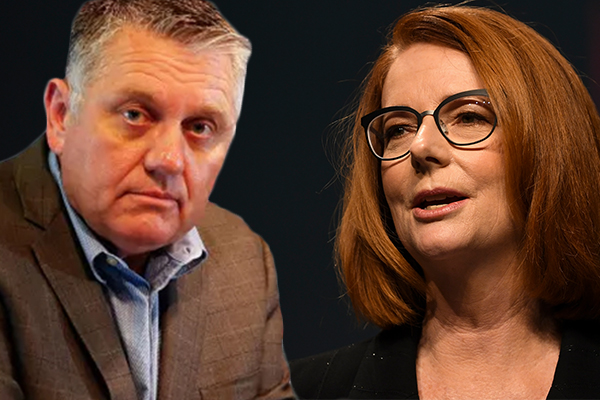 Article image for Ray Hadley's first ever interview with Julia Gillard: 'You left a legacy that rivals any prime minister I've dealt with'