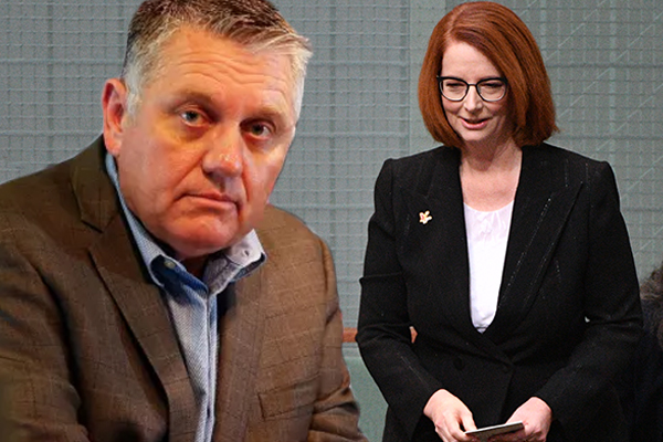 Article image for Ray Hadley issues heartfelt thank you to Julia Gillard