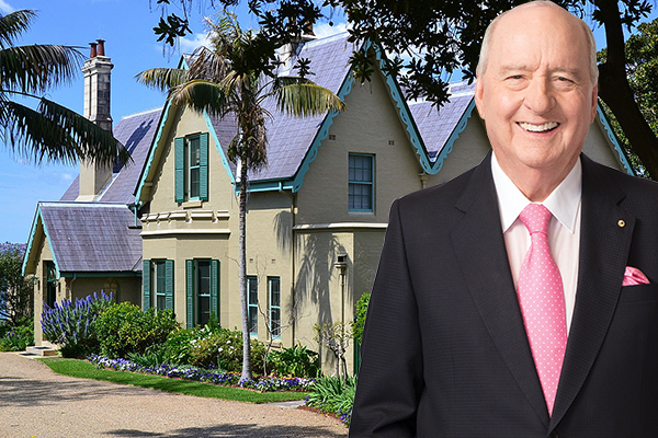 You can join Alan Jones for a night at Kirribilli House