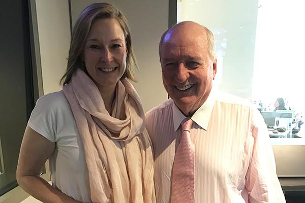 Article image for The ABC presenter always welcome in Alan Jones' studio