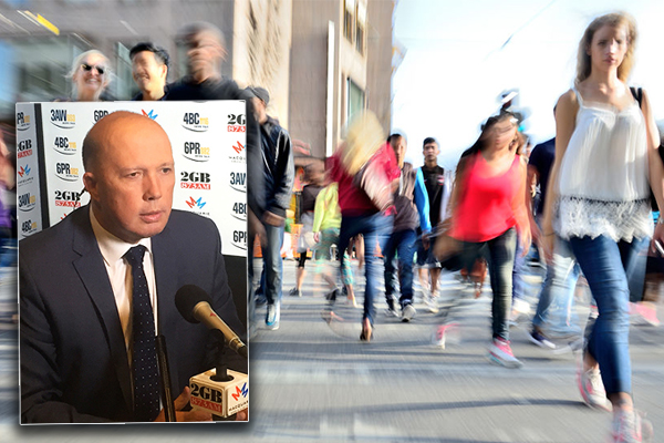 Article image for Peter Dutton: Tackling migrant congestion is a balancing act