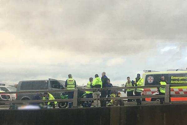 Motorcyclist killed on ANZAC Bridge