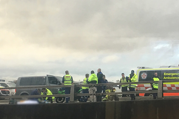 Article image for Motorcyclist killed on ANZAC Bridge
