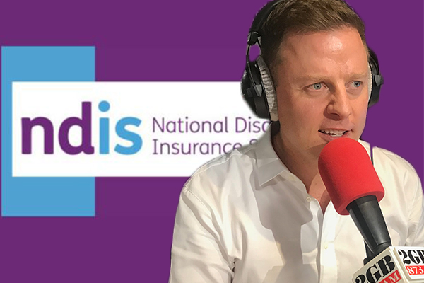 Article image for Ben Fordham pushes those in charge answer to NDIS disaster