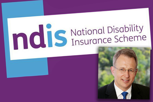 Article image for Minister 'not happy' with NDIS shortfalls