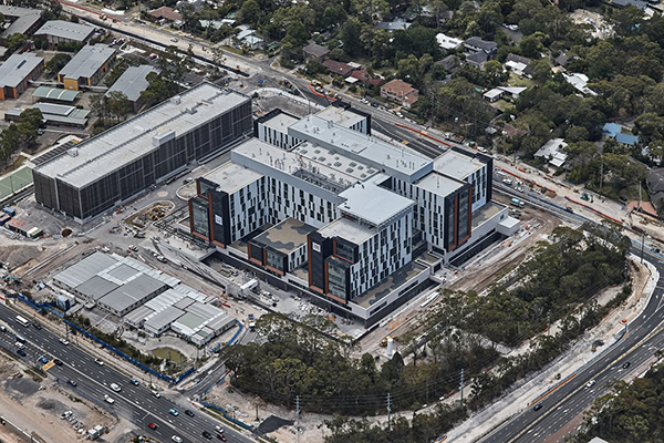 Article image for Northern Beaches Hospital opens after years of construction