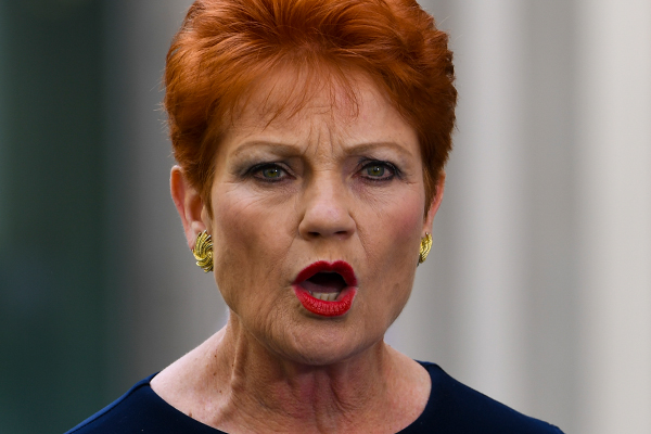 Article image for 'A bloody dirty game': Pauline Hanson savages government after humiliatingback-down