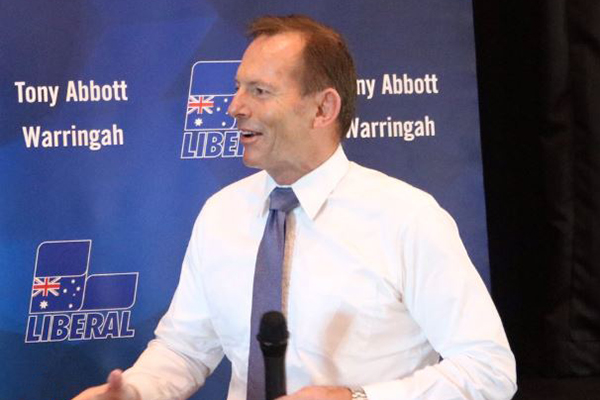 Tony Abbott ready for a dog fight at the next election