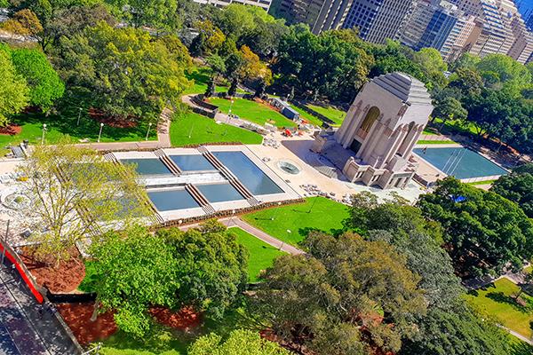 Hyde Park war memorial set to reopen after $40m upgrade