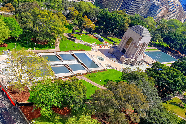 Article image for Hyde Park war memorial set to reopen after $40m upgrade