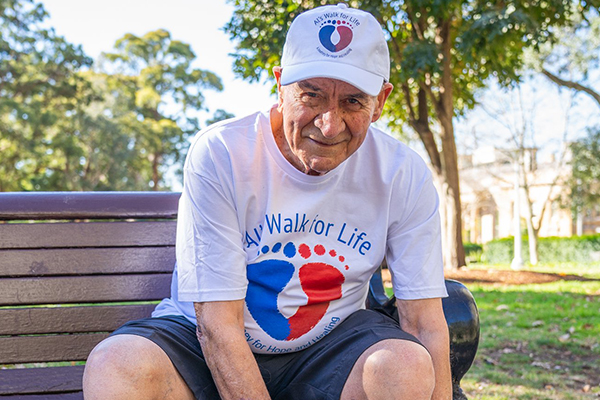 86-year-old man will walk 320km for a very important cause