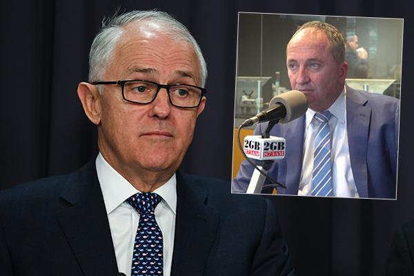 Article image for 'It makes no sense': Barnaby Joyce savages Turnbull's Bali trip