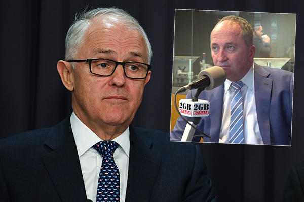 Article image for 'It makes no sense': Barnaby Joyce savages Turnbull's Bali trip