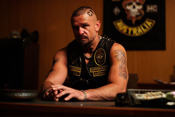 Article image for How Matt Nable prepared for his new role as a hardcore bikie boss