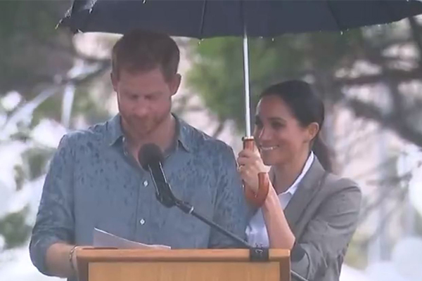 Article image for The touching moment we missed during Prince Harry's speech in Dubbo