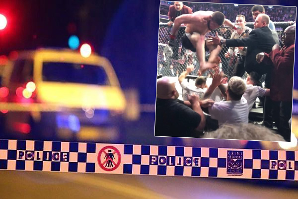 Article image for Police officers attacked by drunk UFC fans