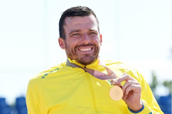 Article image for 'It's been a hell of a day': Kurt Fearnley named NSW Australian of the Year