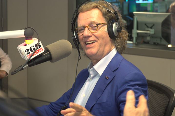 Article image for Andre Rieu asks Alan Jones to take up his unique daily ritual